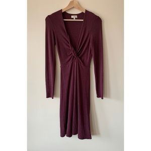 Wilfred Free • S • Twist Peekaboo Paige Knit Dress